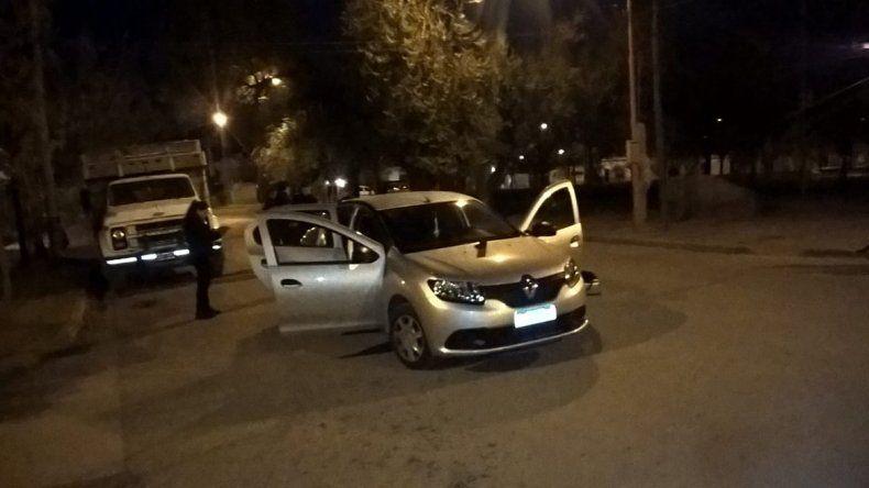 El conductor fue detenido cerca del cruce de Miguel Muñoz y Colombia.