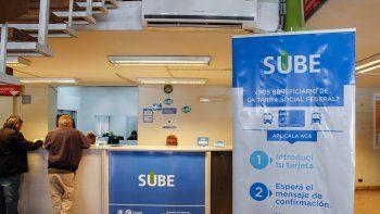 La tarjeta SUBE se puede gestionar en la sede municipal de calle Brentana.