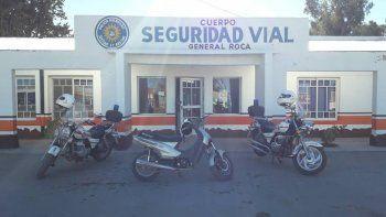 La moto secuestrada era buscada tras una denuncia en la 79°.