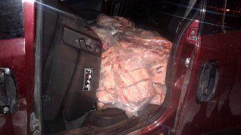 lo agarraron otra vez con una carga ilegal de carne para contrabandear