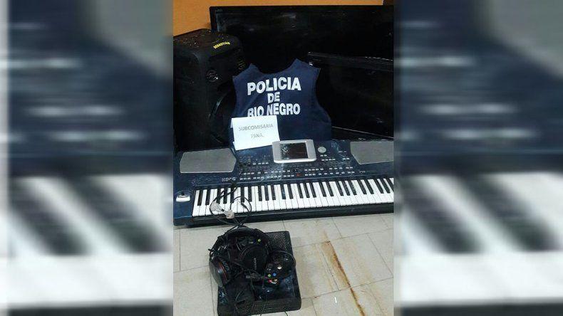 Por un llamado anónimo encontraron todo lo que habían robado