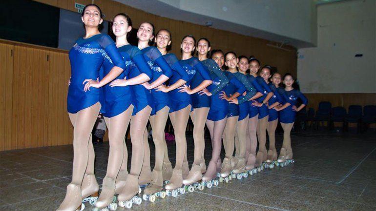 Patinadoras cipoleñas viajan a San Juan para participar del Campeonato Nacional de Patín