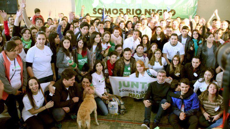 Los jóvenes de Juntos Somos Río Negro se reunieron en Choele Choel