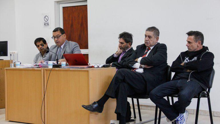 Rubén López y Luis Abramovich estuvieron presentes en la audiencia.