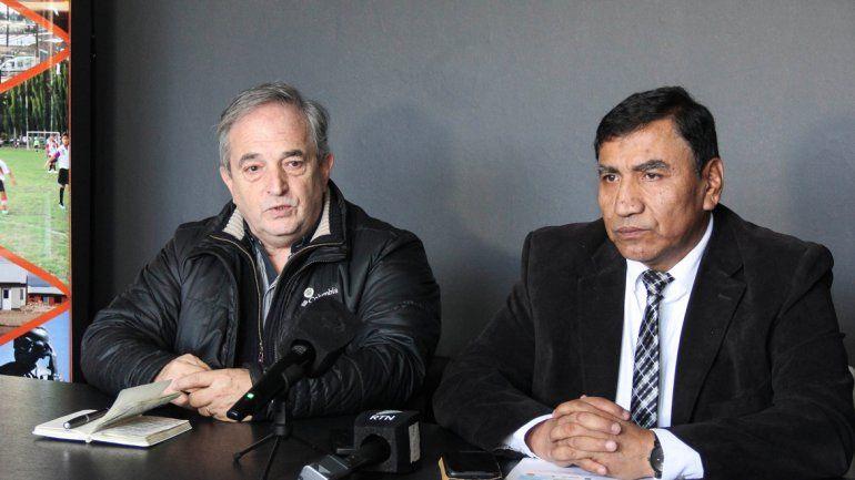 Rapazzo Cesio recibió a Rioseco para brindar detalles de la venta de entradas para la Copa Argentina.