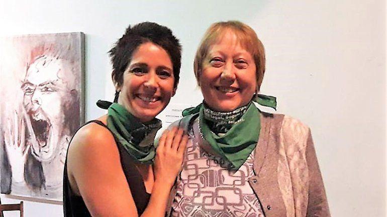 Milesi llevó el debate sobre el aborto a la Asociación Argentina de Actores