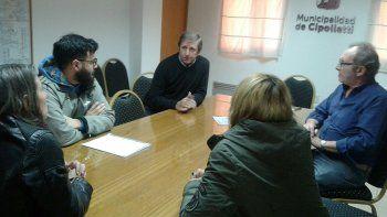 Referentes de la UNCo se reunieron con autoridades municipales