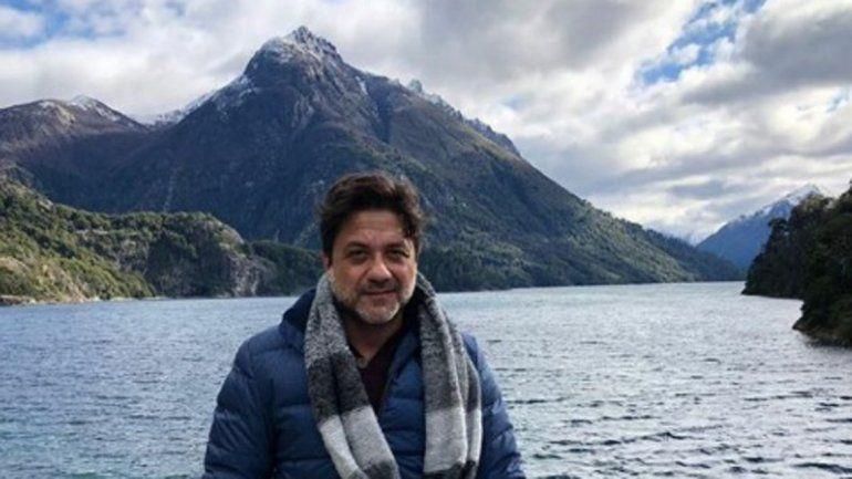 Otro actor de la serie La Casa de Papel paseó por Bariloche
