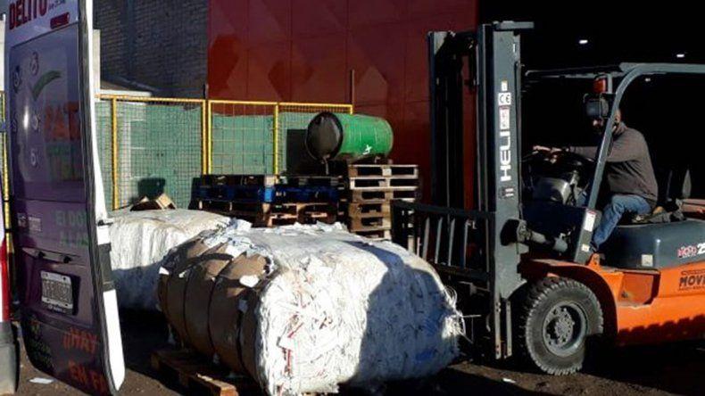 El organismo participa de la campaña nacional de reciclaje.