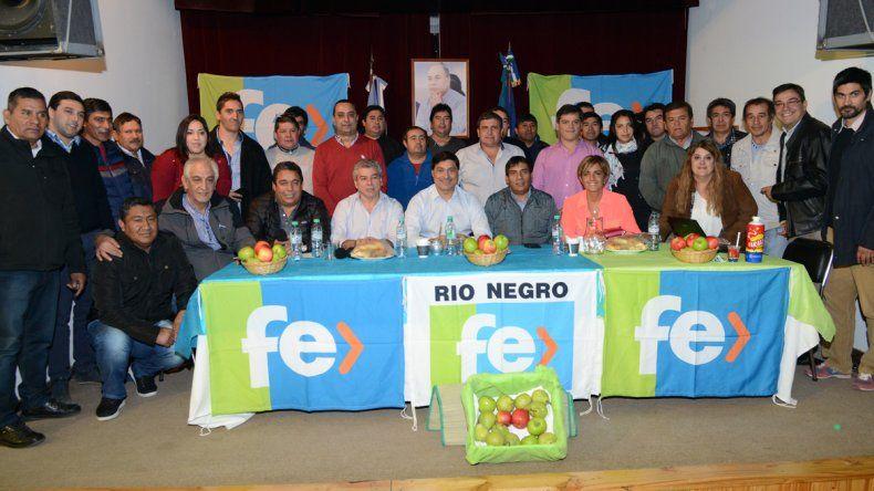 Cipolletti fue sede del congreso del partido FE de Río Negro