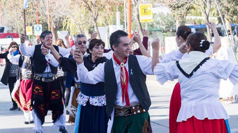 La fiesta patria se celebró a lo grande en el ferrocarril