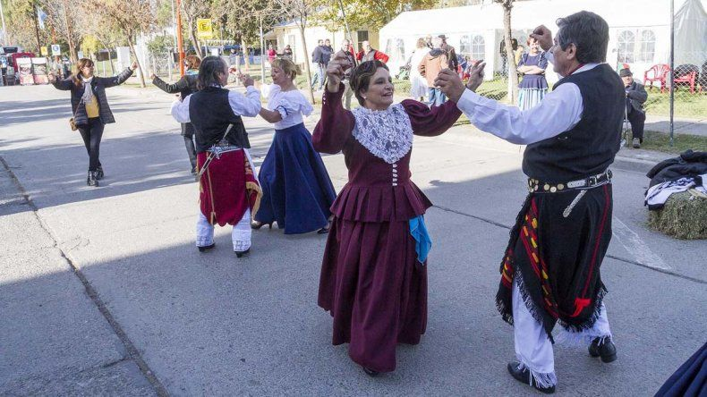 La ciudad fue una fiesta por los festejos de la Revolución de Mayo