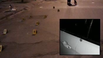 noche violenta: dispararon 36 balazos contra una casa de familia en el almirante brown