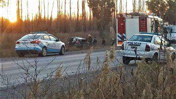 El fatal choque frontal ocurrió el viernes, en la Ruta Nacional 151.