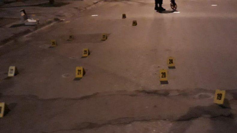 Un desconocido disparó 36 balazos contra una vivienda ubicada en la calle Belgrano. El agresor escapó y no fue detenido