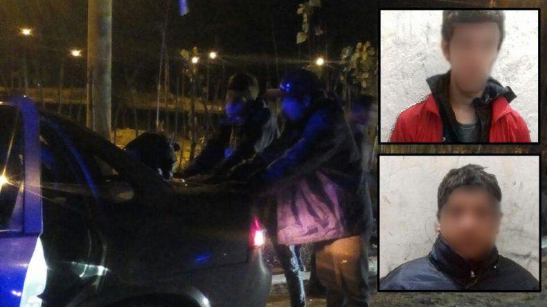 Robaron en una heladería en Cinco Saltos, se dieron a la fuga en un taxi y los atraparon