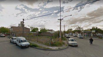 El insólito hecho ocurrió en la esquina de las calles Reconquista y España.