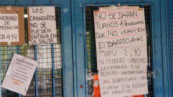 En la salita de salud que funciona en el barrio Anai Mapu se pusieron más estrictos y ahora no atenderán a vecinos de otras zonas de la ciudad.