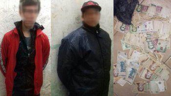 Dos pibes se tomaron un taxi para salir a robar y terminaron presos