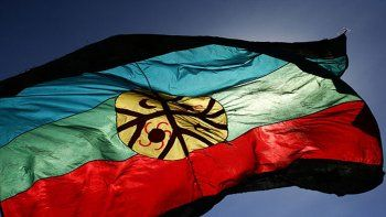 Quieren incorporar la bandera mapuche en las escuelas