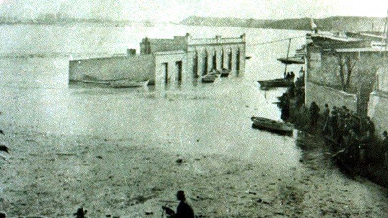 A 119 años de la peor inundación que arrasó a la ciudad