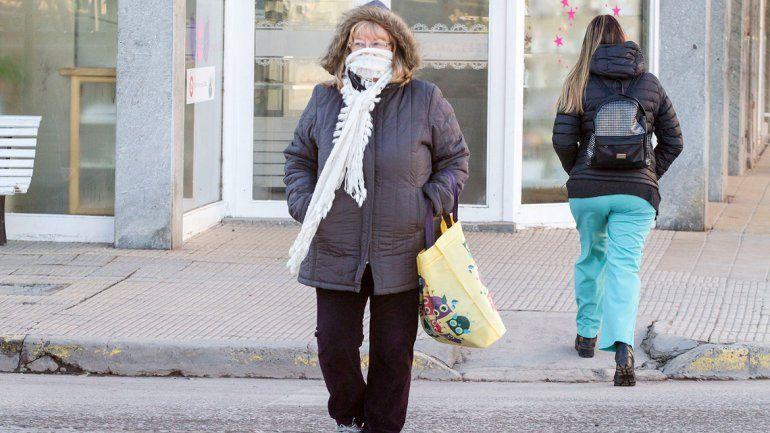 ¡A abrigarse!: la temperatura en el Alto Valle no superará los 9 grados
