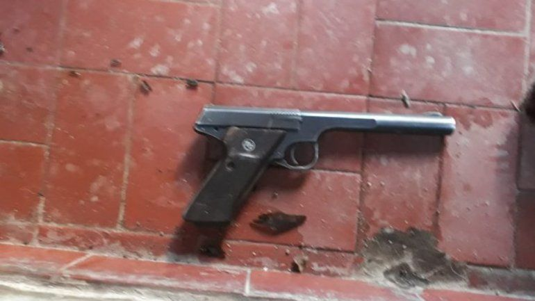 El arma utilizada