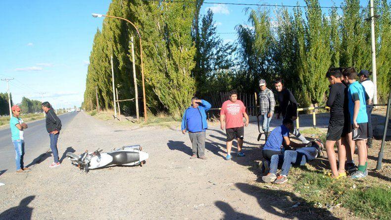 Rutas y accesos a Cipolletti, cada vez más peligrosos