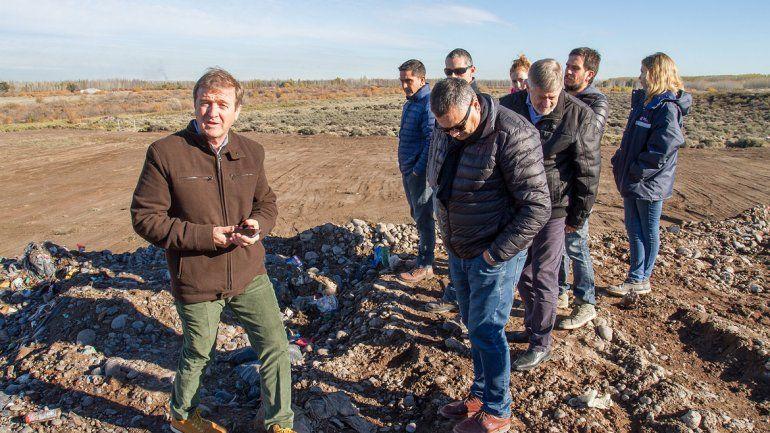 Tortoriello ha impulsado diversas tareas para sanear el basural y para remitir una parte de los residuos urbanos a instalaciones de Neuquén.