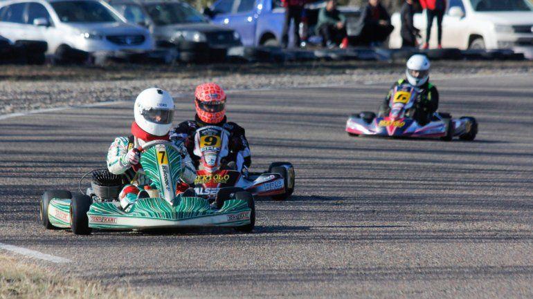 Tortoriello terminó segundoen la categoría de los Máster.