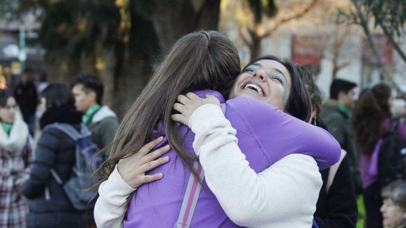 Comenzó el acampe en el centro cipoleño por el aborto legal