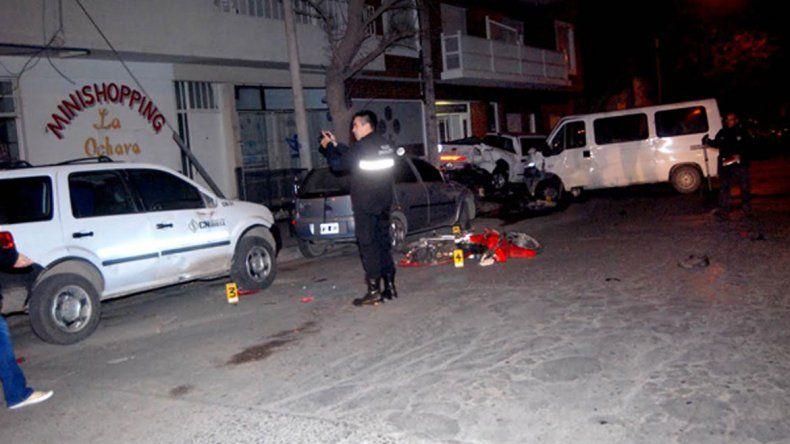 El lamentable siniestro mortal tuvo lugar en la esquina de las calles San Martín y Brentana