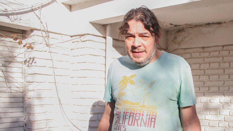 Carlos Leiva aseguró que si la causa no se reactiva iniciará una huelga de hambre en el centro de la ciudad.