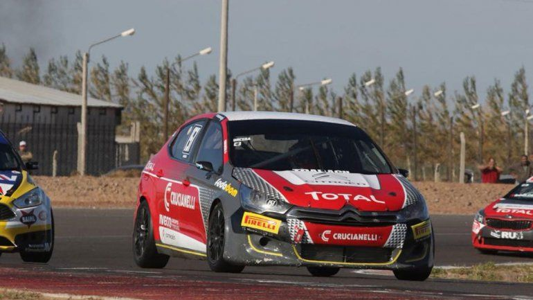 Urcera redondeó otro fin de semana positivo en el TN. En Entre Ríos terminó tercero en la final.