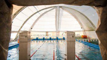 cipolletti se prepara para el torneo parapatagonico de natacion