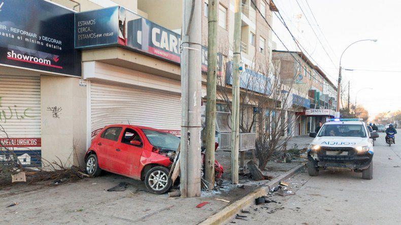 Mirá las impactantes imágenes del accidente de calle La Esmeralda