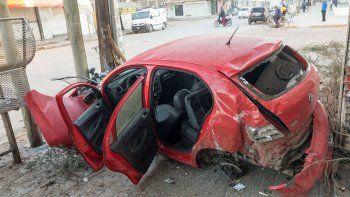 mira las impactantes imagenes del accidente de calle la esmeralda