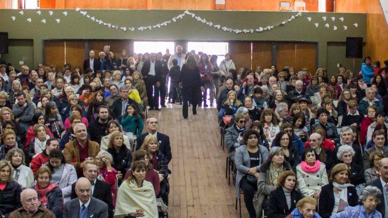 La celebración del aniversario contó con una gran presencia de público.
