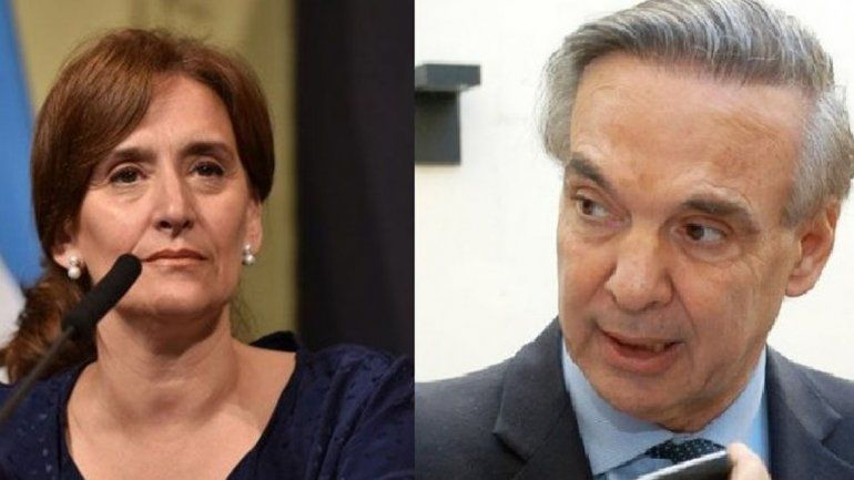 Pichetto dice que Michetti quiere cajonear la ley de aborto legal en el Senado