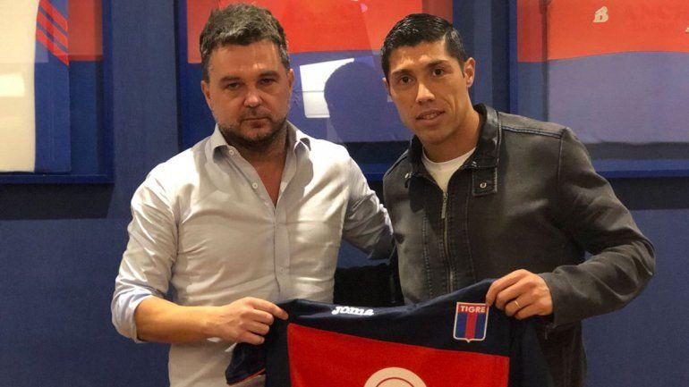 Para el defensor será su cuarta camiseta en la primera división argentina.