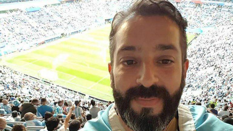 Dirigentes deportivos, periodistas, empleados, comerciantes, estudiantes y profesionales cipoleños se encontraron en Rusia para compartir la pasión por el fútbol. En el último partido fueron 35 mil los argentinos presentes.