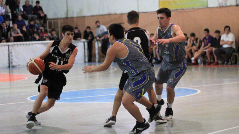 Cipo busca el campeonato en U13 y en U19 en Roca desde hoy.