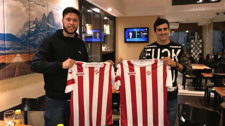 López Quintero y Graziano ya firmaron para Independiente de Neuquén.