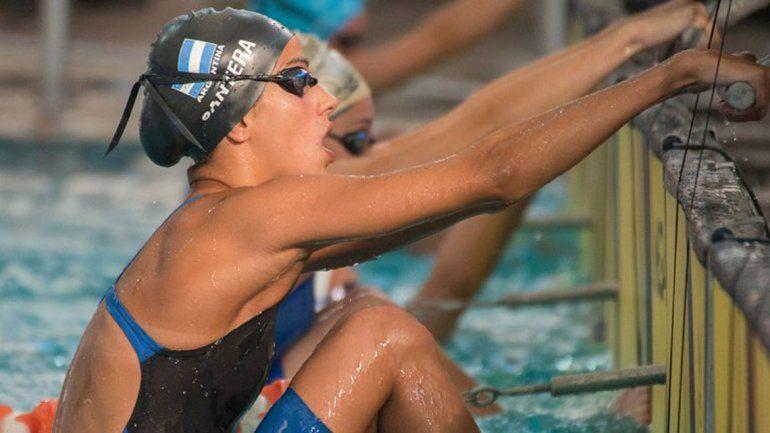 Lola Cantera nadará el Sudamericano de mayores en Perú.