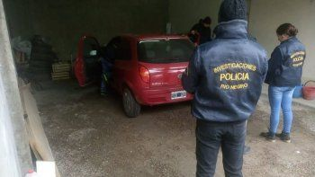 La Brigada cipoleña secuestró el auto a pedido de la fiscalía.