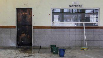 Paciente psiquiátrico intentó prender fuego el hospital