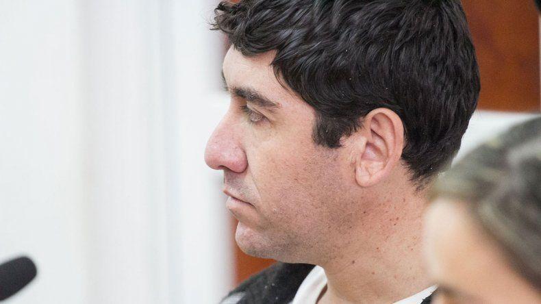 Víctor Ibáñez Sepúlveda se mostró muy tranquilo durante las audiencias.