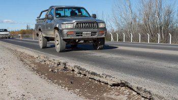 odarda exigio nuevo pavimento para la ruta nacional 151
