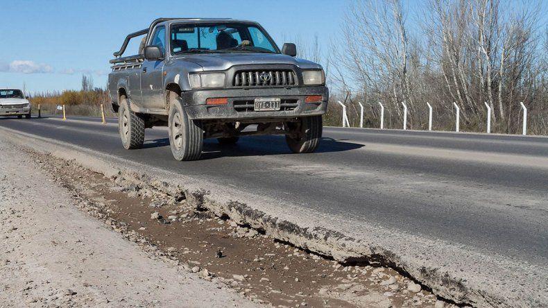 Odarda exigió nuevo pavimento para la Ruta 151