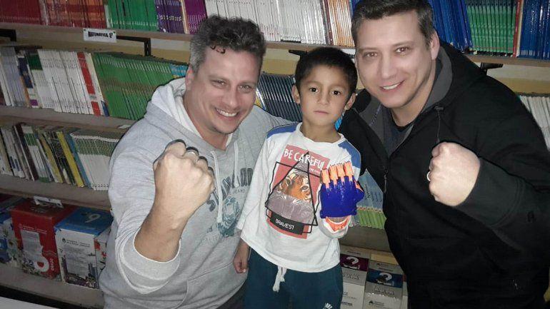 Una cadena solidaria para cambiarle la vida a Joaquín